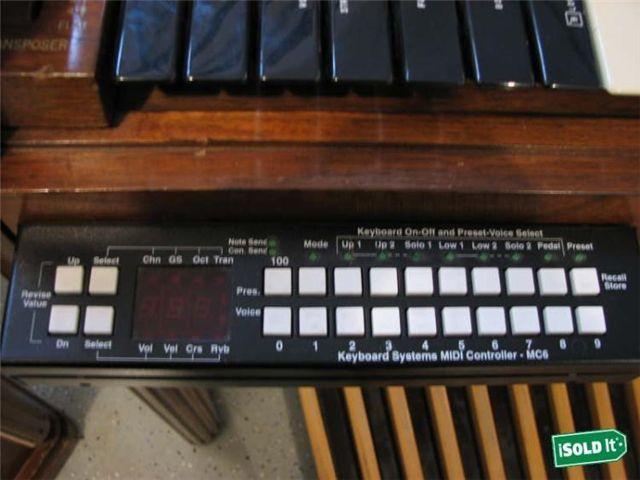 hobberst keyboard systems midi controller mc6 hammond b3000 wanted the organ forum gallery. Black Bedroom Furniture Sets. Home Design Ideas