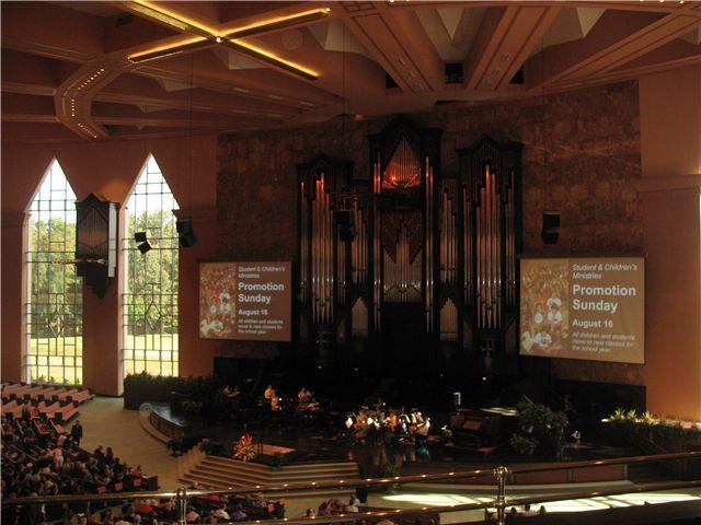 Calvary Church Main Organ Case